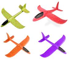 4 Stück 48cm Segelflugzeug Kinder Styroporflieger Schaum Outdoor Spielzeug XXL