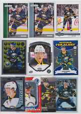 Jack Eichel 10 Card Rookie RC Lot Parkhurst Platinum Rainbow Buffalo Sabres
