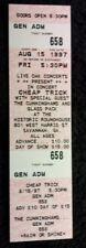 1997 Cheap Trick The Roundhouse Savannah Ga Unused Concert Ticket