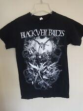 Vintage Black Veil Brides - Tour Band Graphic Printed T-Shirt Size Men Small Tee