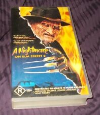 A NIGHTMARE ON ELM STREET 2 VHS PAL