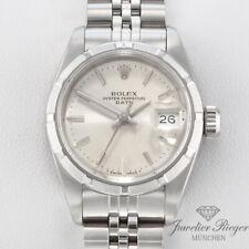 Rolex Lady Date Edelstahl Automatik Armbanduhr Damenuhr Datejust Stahl