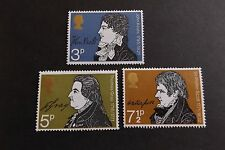 GB MNH STAMP SET 1971 Literary Anniversaries SG 884-886 UMM