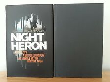 ADAM BROOKES - NIGHT HERON ~ SIGNED 1ST/1ST - 264/500 - RED STAMPED - HB 2014