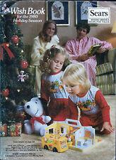 SEARS WISH BOOK FOR THE 1980 SEASON CHRISTMAS CATALOG