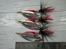D113. Willow Blade Spinners 8g #4 Lures Bait Bass Salmon Pike Sea Trout Fishing