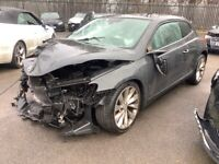 VW SCIROCCO 2.0 TSI GT 180 DAMAGED SALVAGE REPAIRABLE UNRECORDED