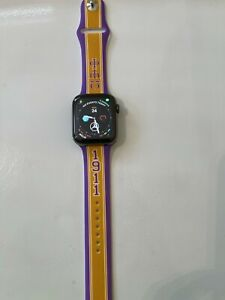 Omega Psi Phi Apple Watch Band Size 42/44 Gold