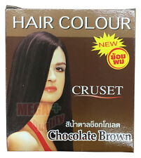 New Cruset Hair Dye Colour Lotion Punk Style Unisex Fashion Chocolate Brown 28ml