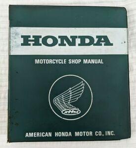 1968 HONDA CB450~K1, 2, 3, 4, 5, 6, 7 & CL450~K1, 2, 3, 4, 5, 6 SERVICE MANUAL