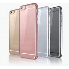 TRANSPARENTE SILICONA Antigolpes Duro Funda para iPhone 7 7 PLUS 6 6s 5SE