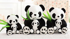 25CM Lovely China panda soft toy panda mother and panda baby For birthday Gift