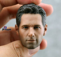 eleven 1/6 Scale ANT-MAN Paul Rudd Head Sculpt For Hot Toys Phicen Male Body