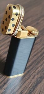 Cartier Lighter Gold and Black Lacquer
