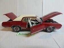 Exact Detail 1/18 OLDSMOBILE 1971 Cutlass Supreme Diecast CAR MODEL w/COA #015