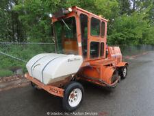 "Broce Broom Rj350 Street Sweeper 96"" Heated Cab A/C John Deere 4.5L bidadoo"