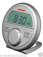 Leifheit Timer ProLine - Digital Egg Timer - Clock - Countdown Counter - 213518