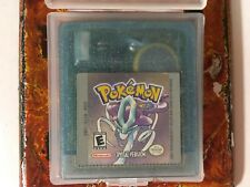Pokémon Crystal New Battery Nintendo Gameboy Color GBC Cleaned Tested Authentic