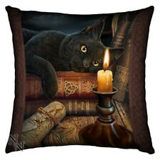 Nemesis Now The Witching Hour Cushion 42cm Lisa Parker Black Cat Gothic