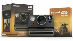 Polaroid NOW Star Wars The Mandalorian Edition I-Type Instant Camera + 1 Film