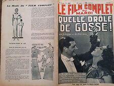 """LE FILM COMPLET 1935 N 1662 """" QUELLE DRÔLE DE GOSSE ! """" DANIELLE DARRIEUX"""