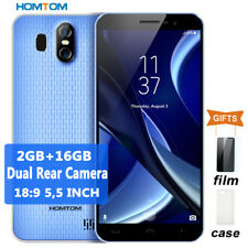 HOMTOM S16 Fingerprint 5,5'' Android 7 Smartphone 2GB+16GB Handy 18:9 All-Screen