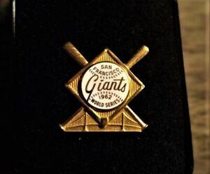 1962 SAN FRANCISCO GIANTS WORLD SERIES PRESS PIN