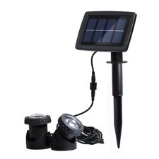 Solar Powered Light Waterproof Garden Pool Pond Lamp Outdoor Spot Light 12 LED