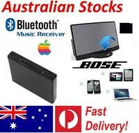 Bluetooth Music Audio Receiver Adapter for iPod iPhone 30-Pin Bose Sound Dock AU
