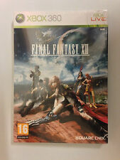 SQUARE-ENIX FINAL FANTASY XIII CARD SLEEVE EDITION XBOX 360 PAL SEALED NEW