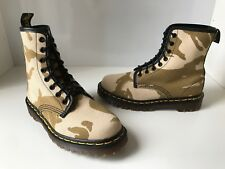Rare! Dr. Martens 1460 Air Cushioned Camo Fabric Boots Size UK3.5 *England