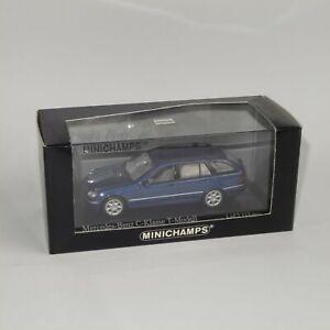 Minichamps 2001 Mercedes Benz C Class T Model Jaspis Blue