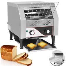 110V Commercial Conveyor Toaster 2.2Kw Restaurant Equipment Bread Bagel Food