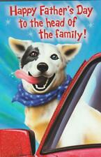 Father's Day Greeting Card, TO THE HEAD OF THE FAMILY (From the Dog) FUNNY CARD