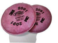 3M 2091 Filter Set 2091cn P100 (2pcs) 3M reusable replacement filters - 1 PAIR