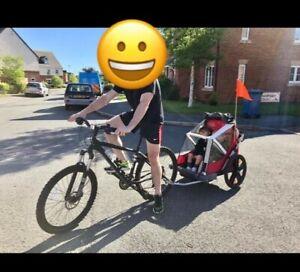 Bellelli double bike trailer