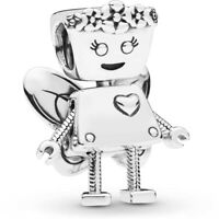 Real 925 Silver LIMITED EDITION FLORAL BELLA BOT CHARM fits European bracelet