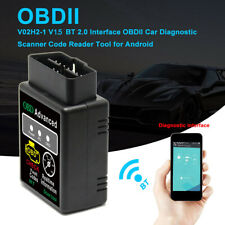 Car Bluetooth OBD2 Reader Code Scanner Automotive Diagnostic Tool OBDII ELM B9K4