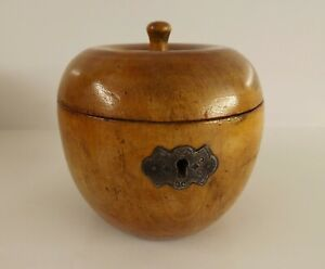 18th Century Apple Tea Caddy.