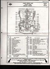 Service Station Equipment Co 1936 Parts Price List Conshohocken Pennsylvania