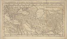 Arabien Afrika  Orig M. KAUFFER Landkarte um 1720 ALEXANDER der Große Mazedonien