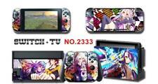 NO GAME NO LIFE Anime Skin Aufkleber Stickers Schutzfolie Für Nintendo Switch