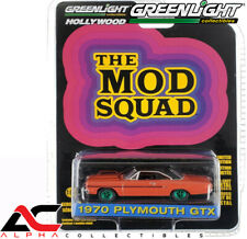 CHASE GREENLIGHT 44890A 1:64 1970 PLYMOUTH GTX (THE MOD SQUAD)