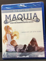 Maquia When the Promised Flower Blooms Blu-Ray + DVD Anime Japanese English New