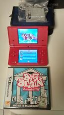 NINTENDO DSI BUNDLE WITH CASE NEW CHARGER 8 GAMES TESTED & WORKING GREAT