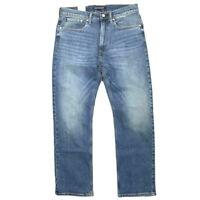Calvin Klein Jeans Men's Relaxed Straight Droit Mid Blue Denim Jeans32X34