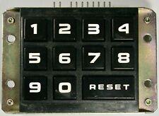 ROWE 4900, 5900, 6800 & 7800 SNACK VENDING MACHINE KEYPAD KEYBOARD