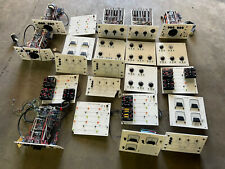 Analog Computer Ac Dc Power Load Ammeter Wattmeter Voltmeter Tech Training Panel
