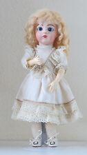 """Antique doll Repro: Bru Jne 7  36 cm 14,2 Inch  Ref """"B""""   Repro Poupée ancienne"""
