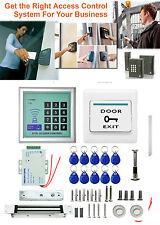 2017 Electronic RFID Proximity Entry Sistema de Control de Acceso + 10 Llaveros